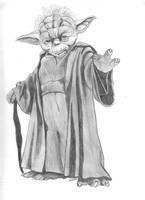 Yoda by Elezar81