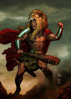 Hercules by ChekydotStudio