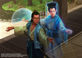 L5R TCG - Mantis Clan, Doji's Guidance by ChekydotStudio