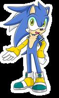 Silver X Sonic Fan Child .:Male:. by VeggieMadness