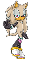 Shade X Silver Fan Child .:IS:. by VeggieMadness