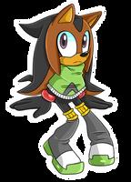 Tikal X Shadow Fan Child .:Agender:. by VeggieMadness