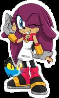 Sonic X Mighty Fan Child .:Female:. by VeggieMadness