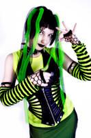 Cyber Goth III by zussia