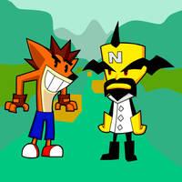 Crash Bandicoot by turb0s0ic333