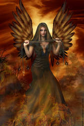 + Angel of Fire + by elisafox