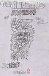 Original The Amazing Adventures of Waz Title Page by DedennesDungeon