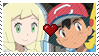 PKMN Sun and moon - Another Aureliashipping Stamp by Aquamimi123