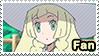 PKMN Sun and moon anime - Lillie Fan Stamp by Aquamimi123