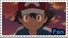 PKMN XY - Ash fan stamp by Aquamimi123