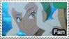 Burnet (Anime) - fan stamp by Aquamimi123