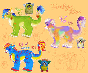 Furby Kiamara Adopts by sonomahai