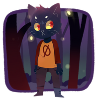 Night in the Woods by cometcrumbs