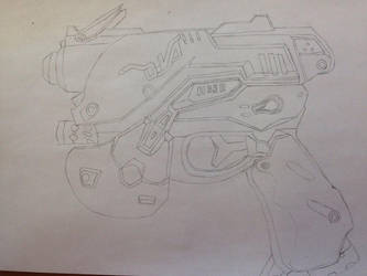 [WIP] D.va light gun by turbo1701