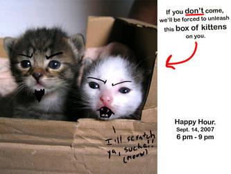 Kitten Happy Hour by iAmNerdgod
