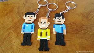 Star Trek ToS Keyrings by Echilon