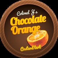 Chocolate Orange Custard Tarts by Echilon