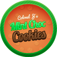 Mint Choc Chip Cookies by Echilon