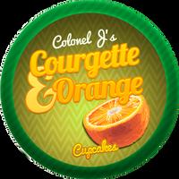 Courgette Orange Cupcakes by Echilon