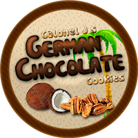 German Chocolate Cookies by Echilon