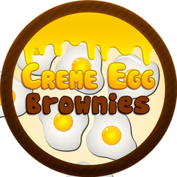 Creme Egg Brownies by Echilon