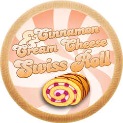 Cinnamon Cream Cheese Swiss Roll by Echilon