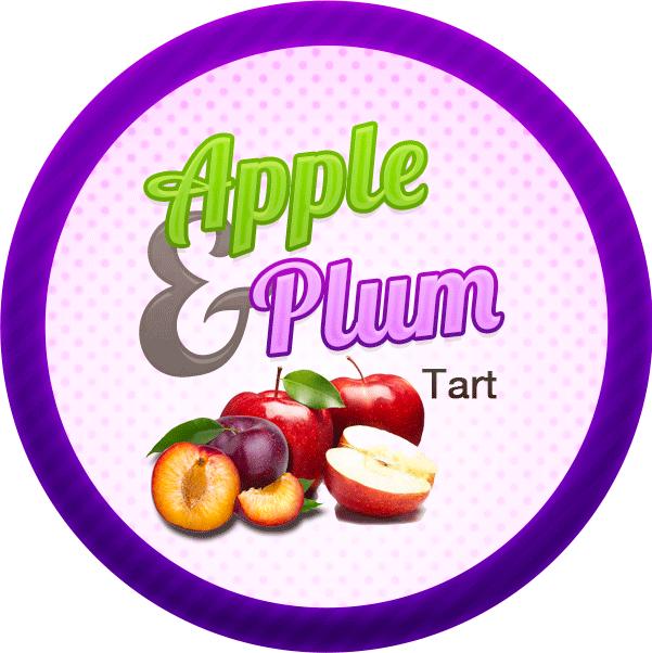 Swingin Apple Plum Tart by Echilon