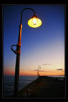 After Sunset on the Pier by The-Violet-Lotus