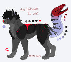 Eel Tailmouth Auction SOLD by frappeholic