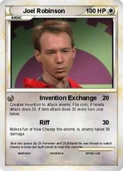 Joel Robinson Pokemon Card by strongbadfan45
