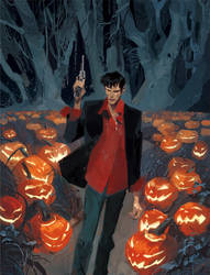 DYLAN DOG_Old Boy cover by GigiCave