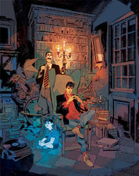 DYLAN DOG 363 Cover by GigiCave
