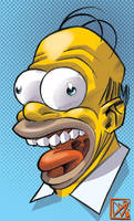 I wish I was Homer Simpson by GigiCave