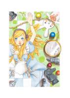 Alice in wonderland by xxxKei87xxx