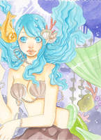 The little mermaid by xxxKei87xxx
