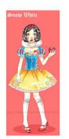Disney Snow White lolita by xxxKei87xxx