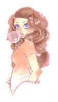Bubble gum lover by xxxKei87xxx