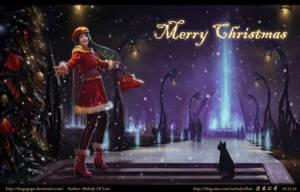 Merry Christmas by fangogogo
