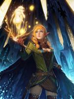 Magic Swordwoman by fangogogo