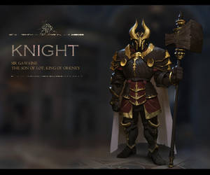 A knight design _male by fangogogo
