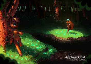 Applejack by derekireba