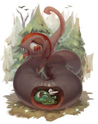 worm2 by derekireba