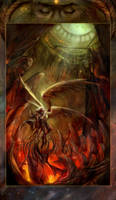 I Shall Face Damnation for You by juliedillon