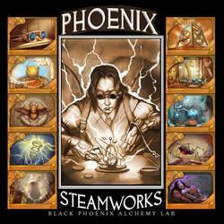 Phoenix Steamworks by juliedillon