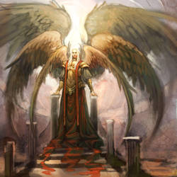 unfinished Lucifer design by juliedillon