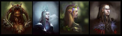 Misc Portraits by juliedillon