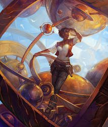 Planetary Alignment by juliedillon