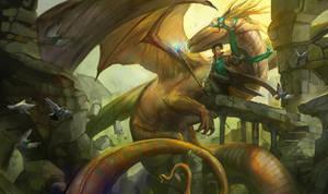 Dragon Mage by juliedillon