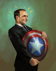 Fanboy Coulson by juliedillon