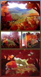 Merrell Diorama Contest - Autumn by juliedillon